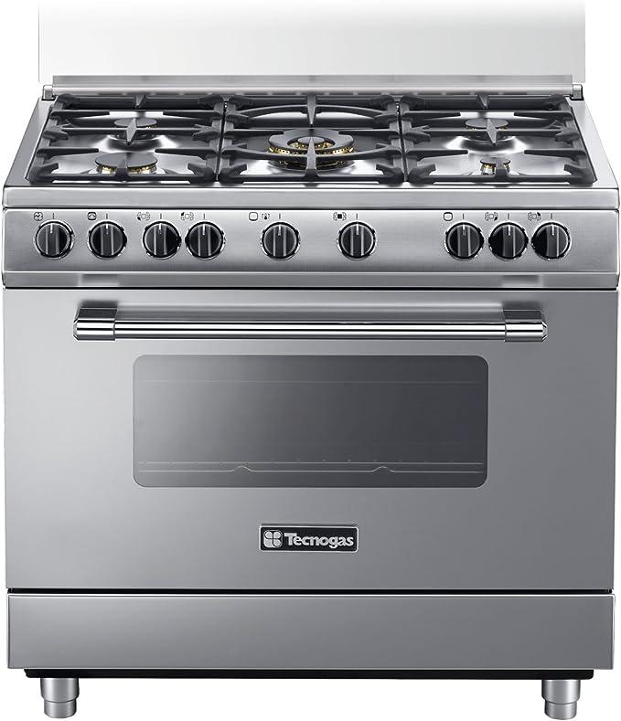 Tecnogas PP965MX - Cocina (Cocina familiar tipo industrial, Acero ...