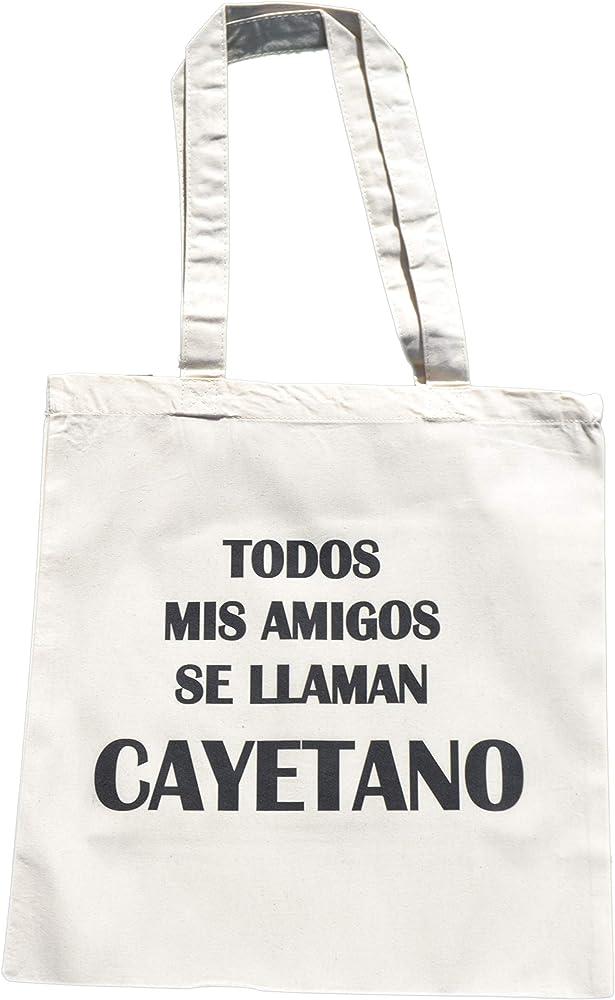 ElNido Tote Bag Algodón Orgánico Cayetano Carolina Durante para ...