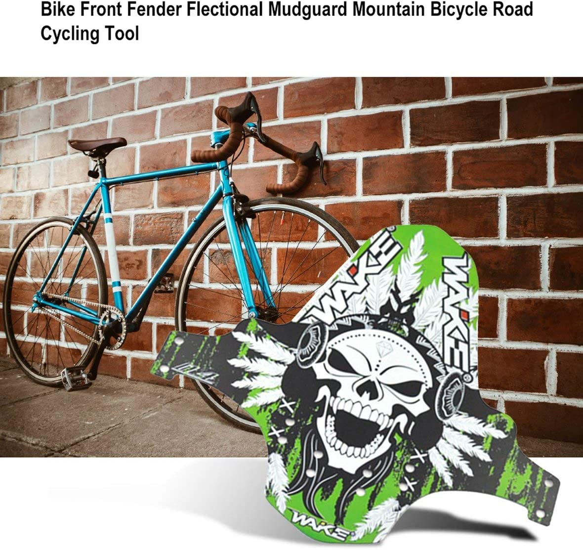 Bike MTB Front Fender Flectional Mudguard Set Mountain Bicycle Road Cycling Tool