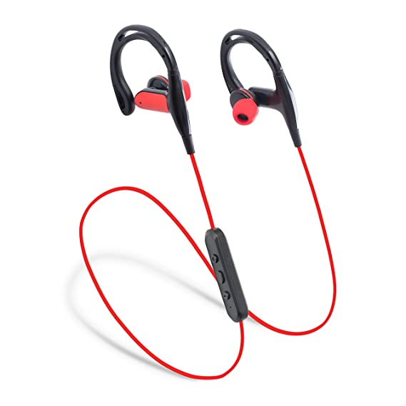 6d18f073e9f Laud Sports Bluetooth Wireless In-Ear Headphones - Premium HD Sound - Noise  Cancelling Stereo