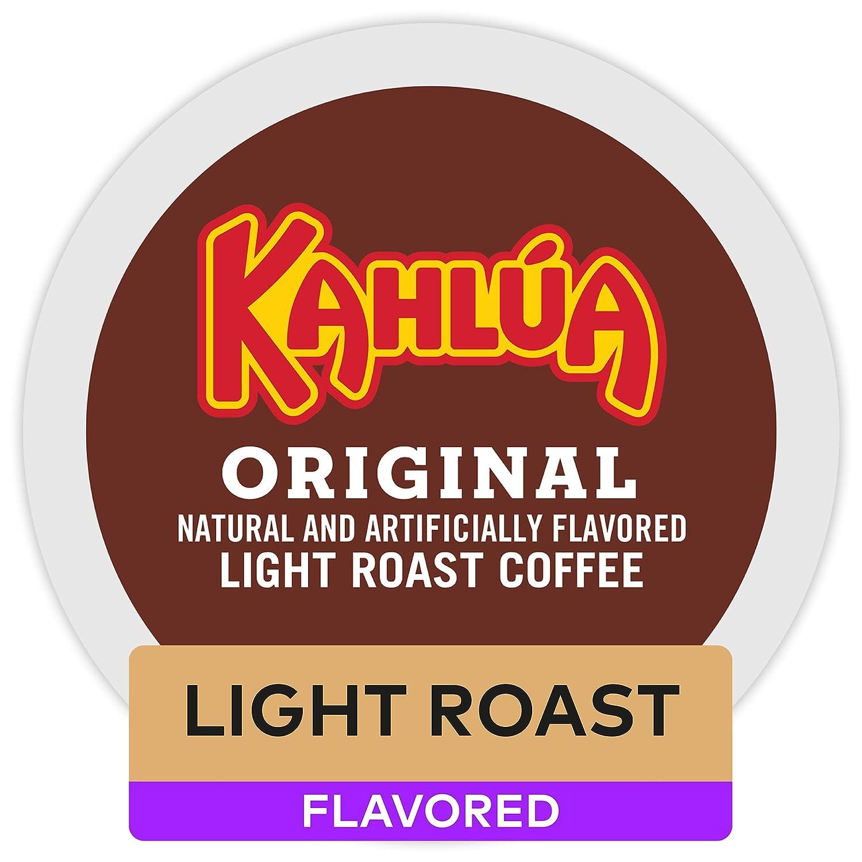 Kahlua Coffee Keurig Single-Serve K-Cup Pods, Light Roast Coffee, 72 Count