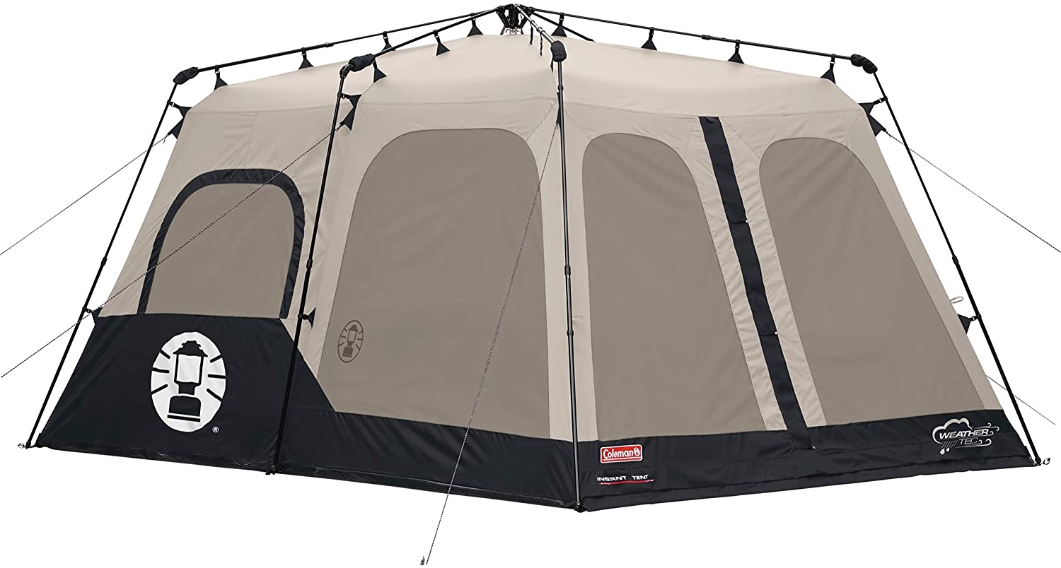 Coleman Instant 8 Person Tall Two Room Family Tent image