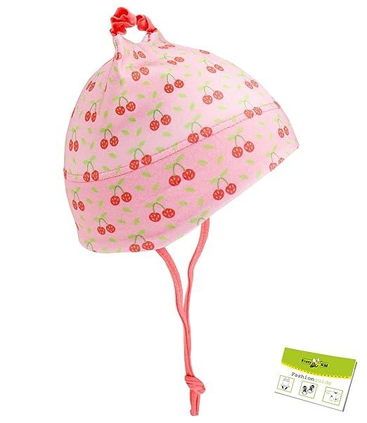 EveryKid Maximo Il Cappello del Bambino Protezione dai Raggi UV cap Jersey  Berretto con Laccio Ragazze 86fd94431fb0