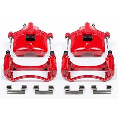 Power Stop S4638 Performance Powder Coated Brake Caliper Set For Chevy, Buick, Oldmobile, Pontiac: Automotive
