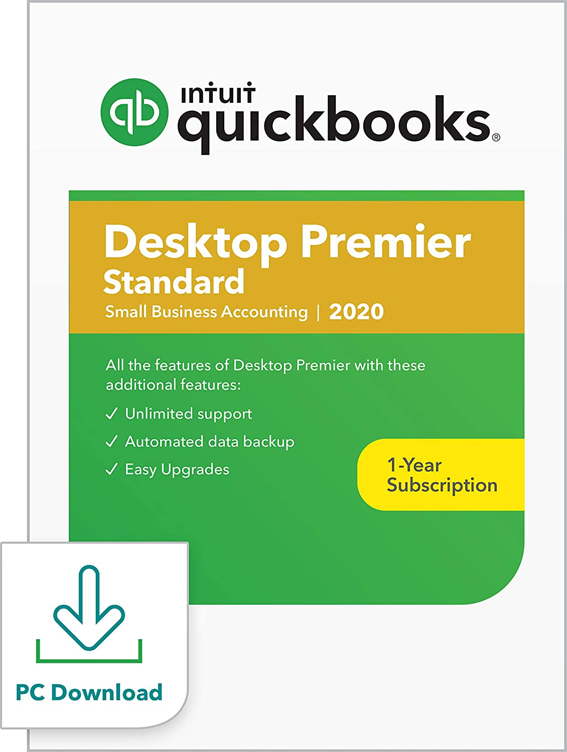 QuickBooks Desktop Premier Plus (Standard) 2020 Accounting Software for Small Business [PC Download]