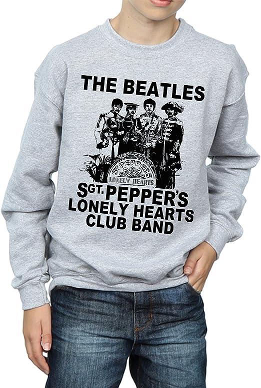 The Beatles Ni/ños SGT Pepper Camisa De Entrenamiento