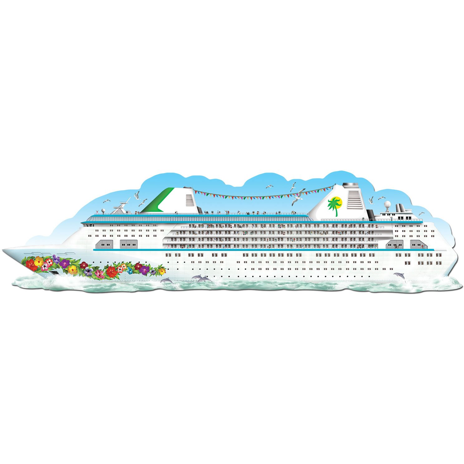Amazon.com: Jointed Cruise Ship Party Accessory (1 count) (1/Pkg ...