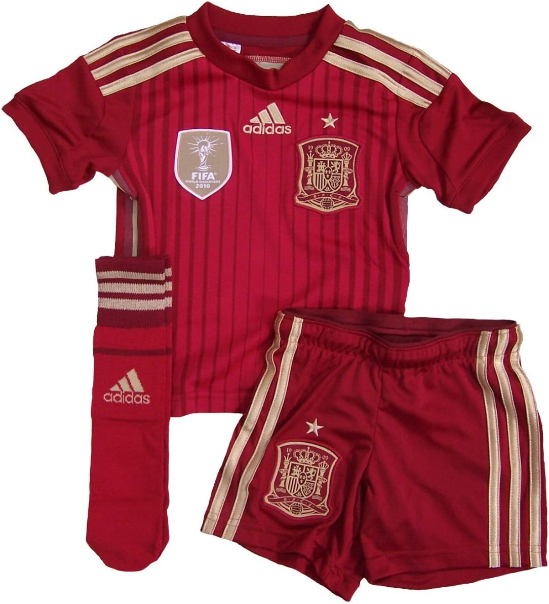 adidas - Equipment Spain Junior 2014, Color Victory Red, Talla 13 ...