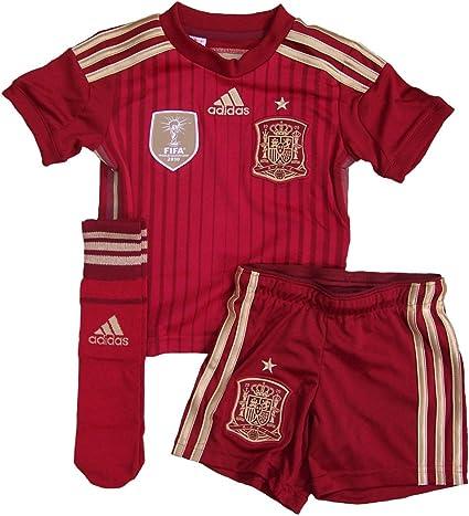 adidas - Equipment Spain Junior 2014, Color Victory Red, Talla 13-14 Years: Amazon.es: Deportes y aire libre