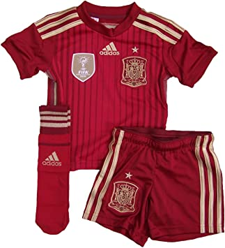 adidas - Equipment Spain Junior 2014, Color Victory Red, Talla 13-14 Years: Amazon.es: Deportes y aire libre