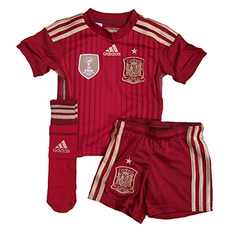 Adidas - Equipment Spain Junior 2014, Color Victory Red, Talla 7-8 Years