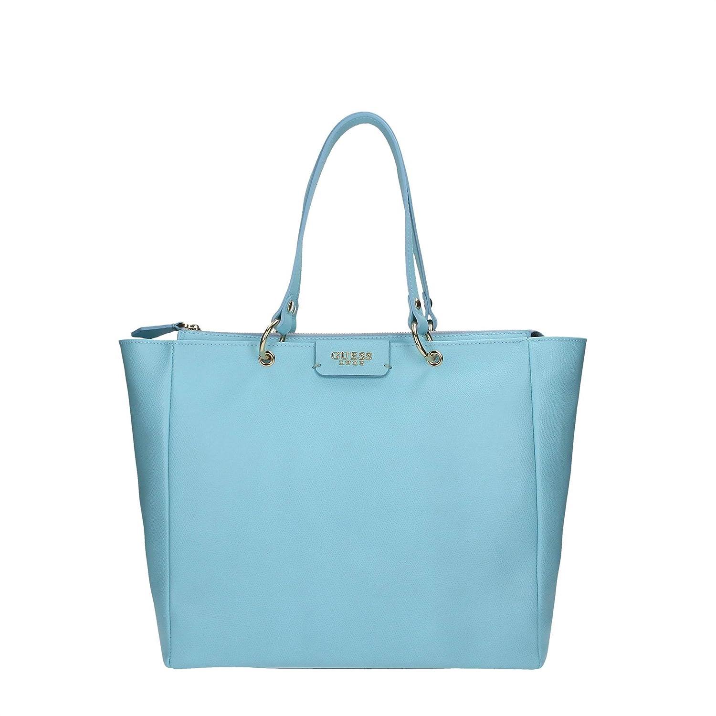Guess HWCARLL6123 Shopper Donna Pelle Light Blue Light Blue