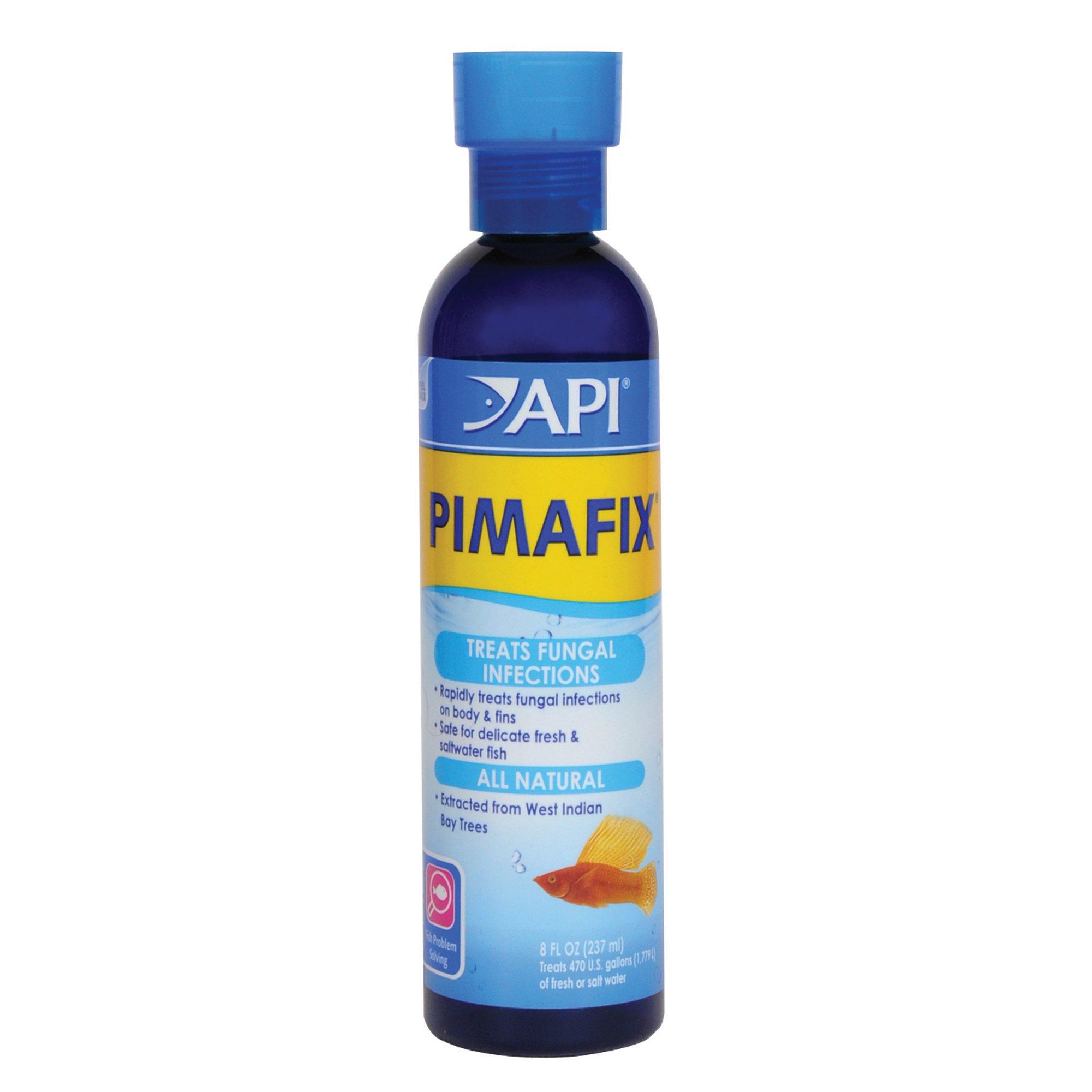 API PIMAFIX Antifungal Freshwater and Saltwater Fish Remedy 8-Ounce Bottle (10H)