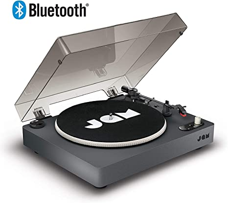 Jam Spun out Tocadiscos con Bluetooth – Reproductor de Discos de ...