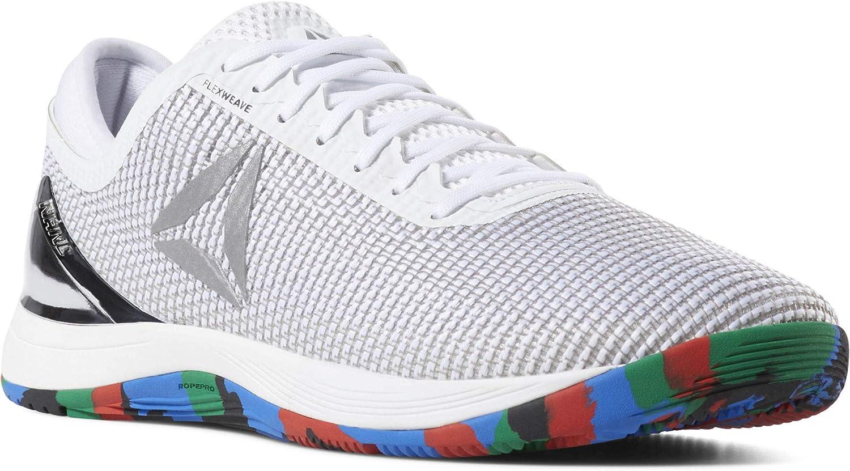 Reebok Crossfit Nano 8 Flexweave Chaussures dentra/înement pour homme Blanc