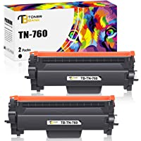 Toner Bank Compatible Toner Cartridge Replacement for Brother TN760 TN-760 TN730 TN-730 TN 730 for MFC-L2710DW DCP…