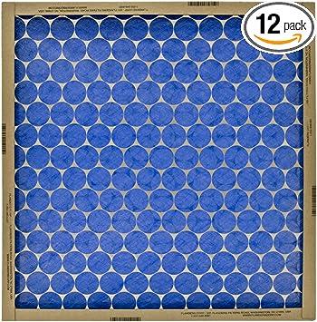 20x30x1 Merv 11 Furnace Filter 12 Pack