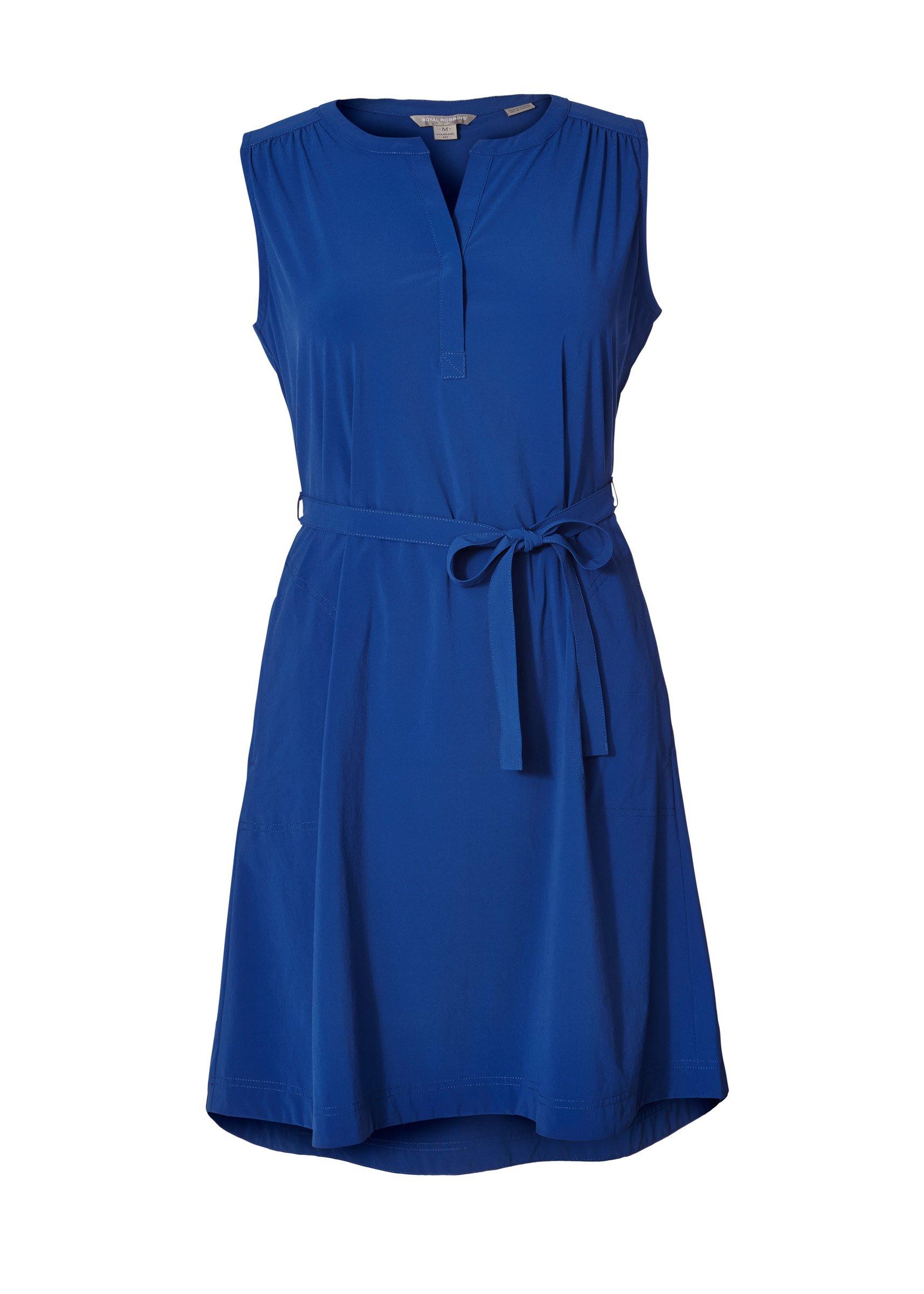 Royal Robbins Women's Spotless Traveler Tank Dress, Abyss, Size 10