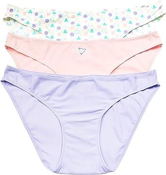 Braguitas Princesa Triplets Joven y Mujer Pack de 3 Bikinis (M, Flechitas Pasteles): Amazon.es: Ropa y accesorios