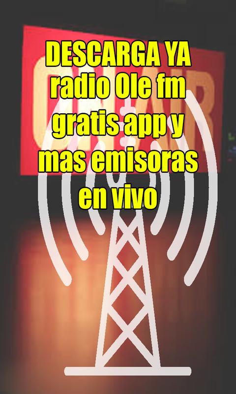 Amazon.com: radio ole fm gratis app y mas emisoras en vivo: Appstore for Android