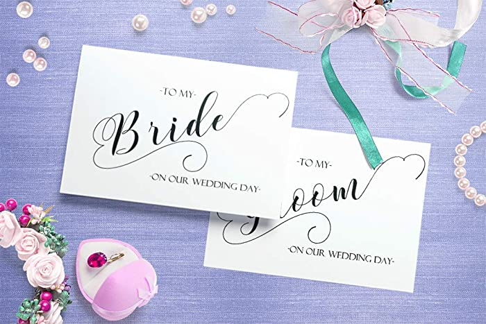 Amazon Wedding Card To My Bride Or Groom On Our Wedding Day