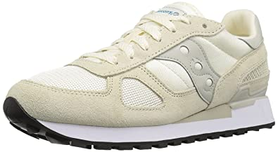 Saucony Originals Mens Shadow Original Sneaker Off White 37.5 D(M) EU/4 D(M) UK