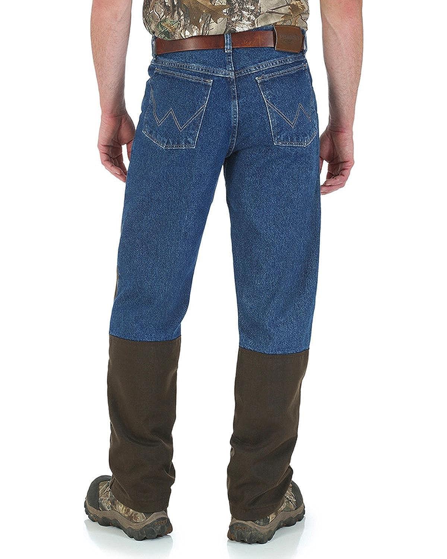 53016a864f603 Wrangler Men's Navy Progear Upland Briar Jeans Straight Leg Navy 40W x 32L:  Amazon.ca: Clothing & Accessories