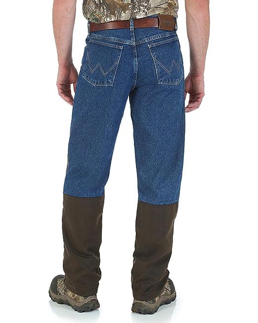 719052228649d Wrangler Men's Navy Progear Upland Briar Jeans Straight Leg Navy 40W x 32L