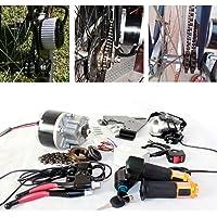L-faster 250W ÉLECTRIQUE Brosse Moteur pour VÉLO ÉLECTRIQUE ACCÉLÉRATEUR avec Interrupteur CLÉ ET Tension DE Batterie Simple Moteur KIT pour E-Bike Bricolage