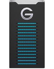 G-Technology G-Drive Mobile SSD R-Series de 2TB–IP67, Resistente a Golpes y Vibraciones Unidad de Estado sólido Negro Negro 2 TB