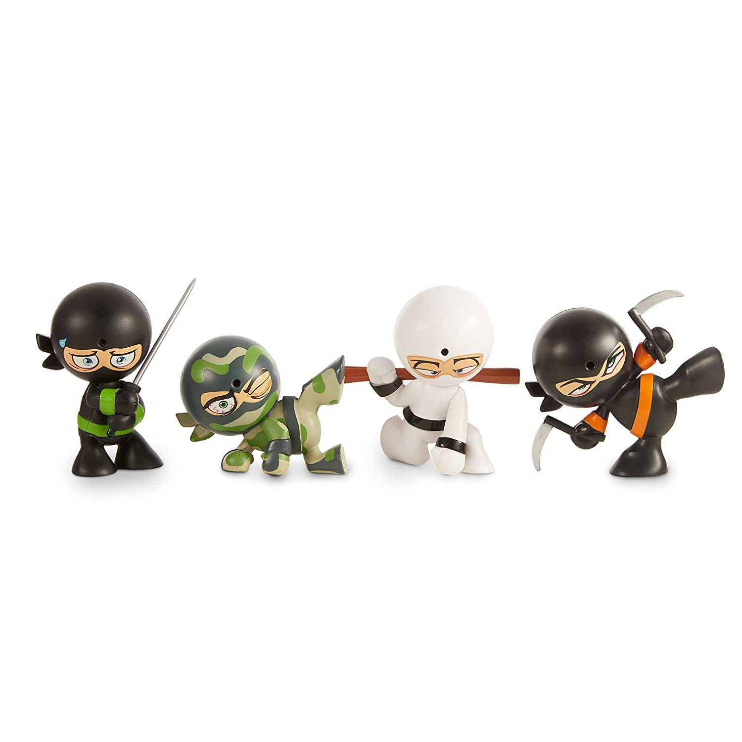 Fart Ninja 4 Pack Styles May Vary from Shown, Multicolor
