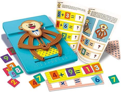 4 M matemáticas calculadora de Mono: Amazon.es: Juguetes y juegos