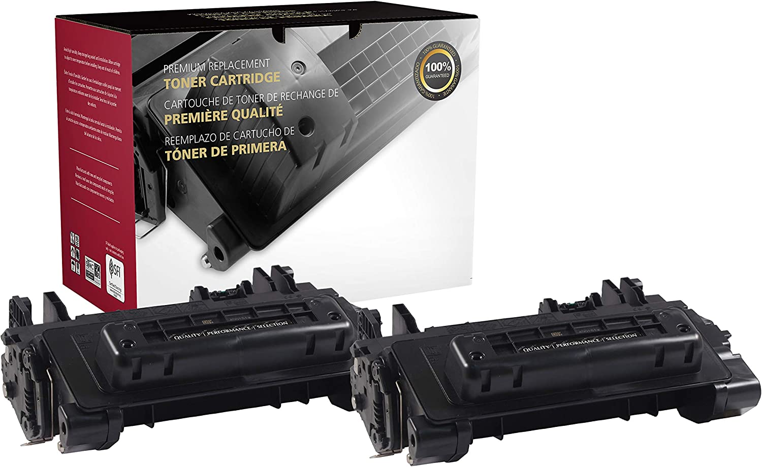 Inksters Remanufactured Toner Cartridge Replacement for HP 81A Extended Yield CF281A(J) for Laserjet Enterprise M604DN M604N M605DN M605N M605X M606DN M606X (Black) - 2 Pack