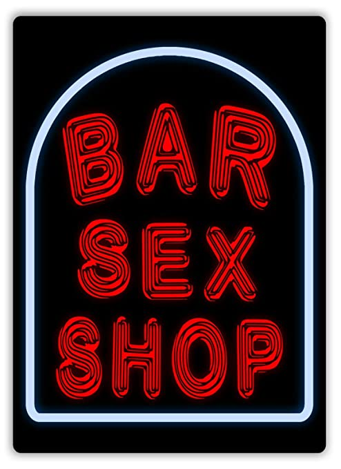 LORENZO Bar Sex Shop Vintage Metal Cartel de Chapa Pared ...