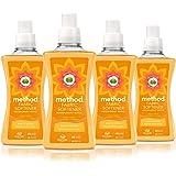 Method Fabric Softener, Ginger Mango, 53.5 Ounce, 45 Loads (4 Count)