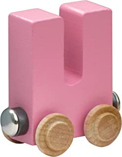product image for NameTrain Pastel Letter Car U - Made in USA