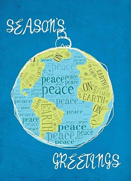 Amazon.: Tree Free Greetings Holiday Cards and Envelopes, Set