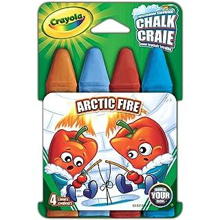 Crayola Chalk 4/Pkg-Arctic Fire, Arctic Fire 03-5213