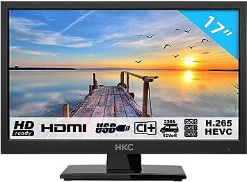 HKC 17H2 Televisor LED (17 Pulgadas HD TV) Triple Tuner, Ci+ ...