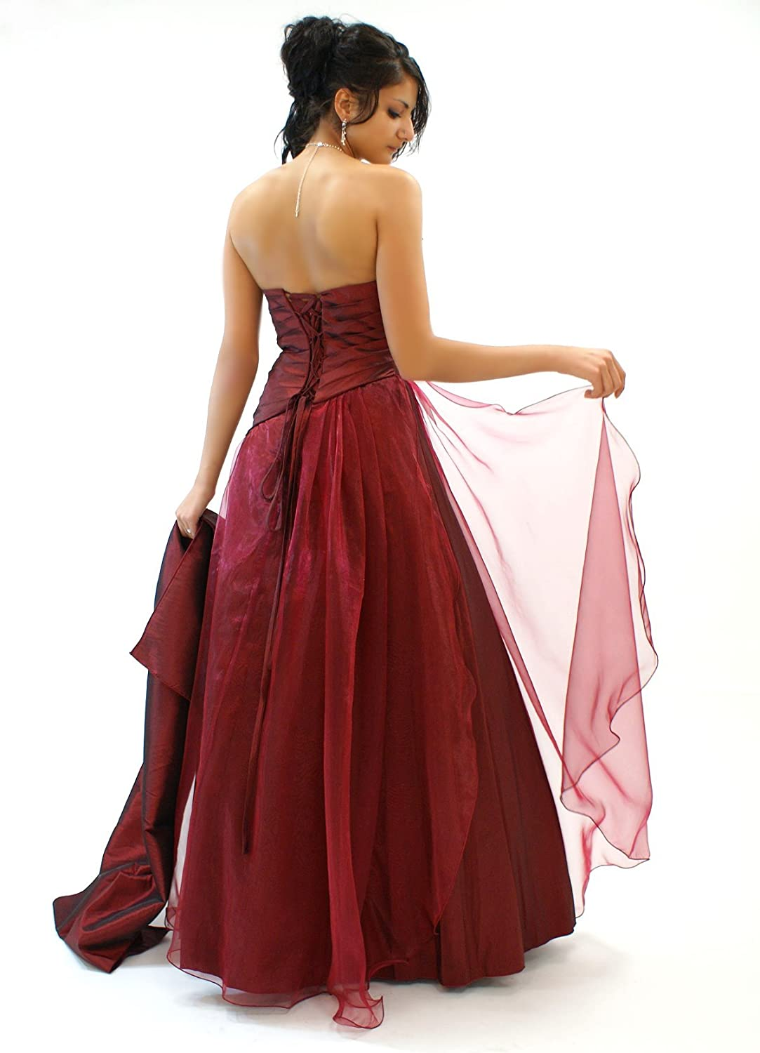 Young-Fashion La Robe du Soir en Organza (2013) Rouge