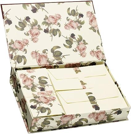 Rssler Poesie - Caja con papel y sobres para cartas: Amazon.es ...