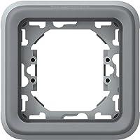 Legrand - 069681 placa 1 elem. gris plexo
