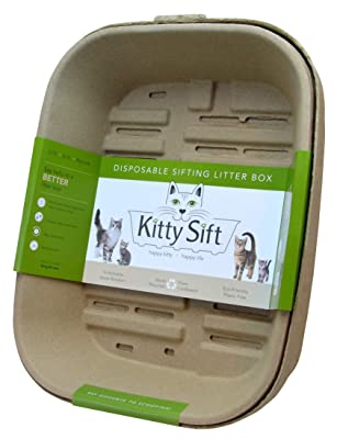 Kitty Sift Disposable Sifting Litter Box