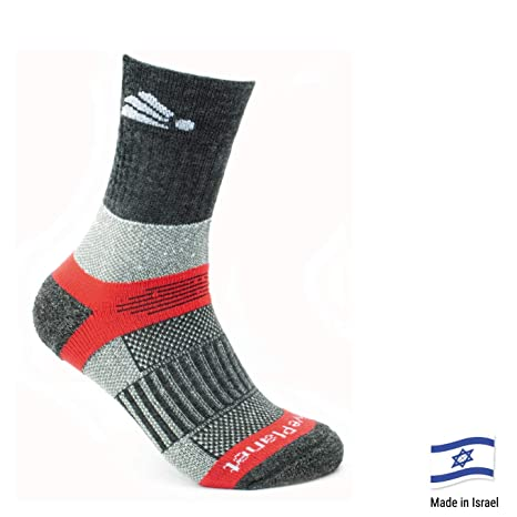 c9bfc158a Native Planet Heat Merino Wool Hiking Outdoor Socks, Cold Weather,  Antibacterial Coffee Charcoal Yarn