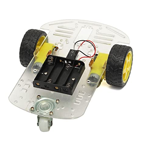 Amazon Com Diy Programmable 2wd Smart Robot Car Chassis Kit With
