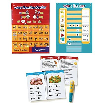amazon com learning resources word family rhyme chart