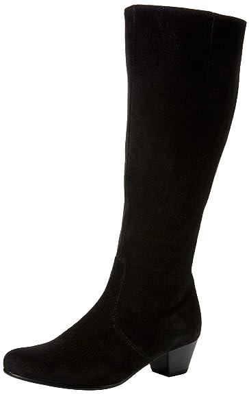 a04ec47c533bc Gabor Shoes Women's Comfort Basic High Boots Black (Schwarz (Micro) 47) 3