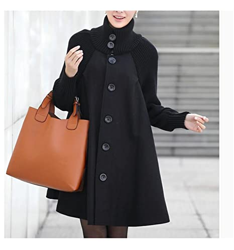 Amazon.com: Special Beauty Nice Outwear Coat Abrigos Mujer Autumn And Winter Cloak Outerwear Women Wool Coat Long Maternity Clothing #C5: Clothing