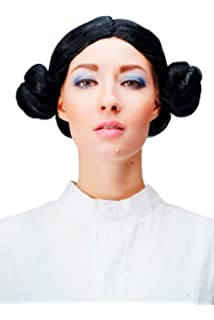 Star Wars Space Princess Leia Leah Wig Fancy Dress (peluca ...