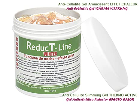 Anticelulítico Reductor Reductline WINTER Efecto Calor xxl - 500 ml, a base de Extractos Vegetales